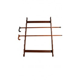 Cane holder, beech wood, for 9 units