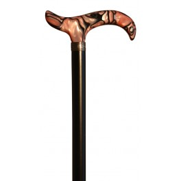 Pink handle, black beech wood