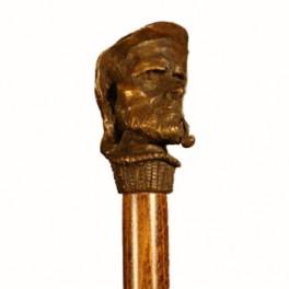 MARINERO CON PIPA, de bronce macizo