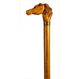 HORSE olive wood handle, beech wood shaft