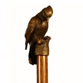 PÁJARO CARPINTERO, de bronce macizo