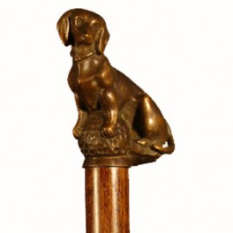 TECKEL AMB BOLA, de bronze massís